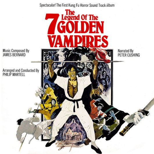LEGEND OF THE 7 GOLDEN VAMPIRES, THE - Original Soundtrack by James Bernard