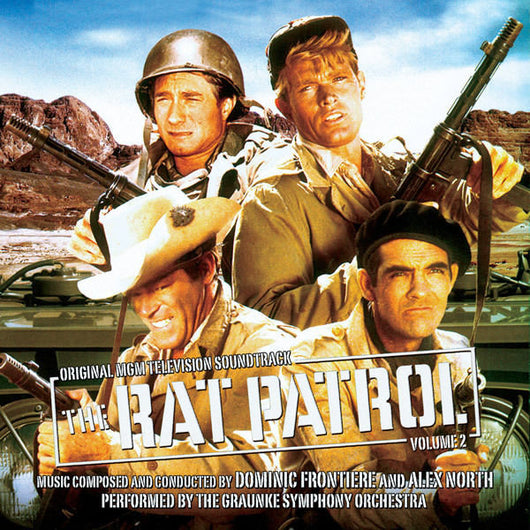 The Rat Patrol Vol 2-Original Soundtrack by Dominic Frontiere & Alex North