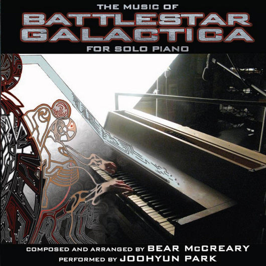 MUSIC OF BATTLESTAR GALACTICA FOR SOLO PIANO - Composed by Bear McCreary