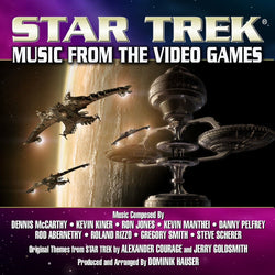 STAR TREK: MUSIC FROM THE VIDEO GAMES - Produced and Arranged by Dominik Hauser