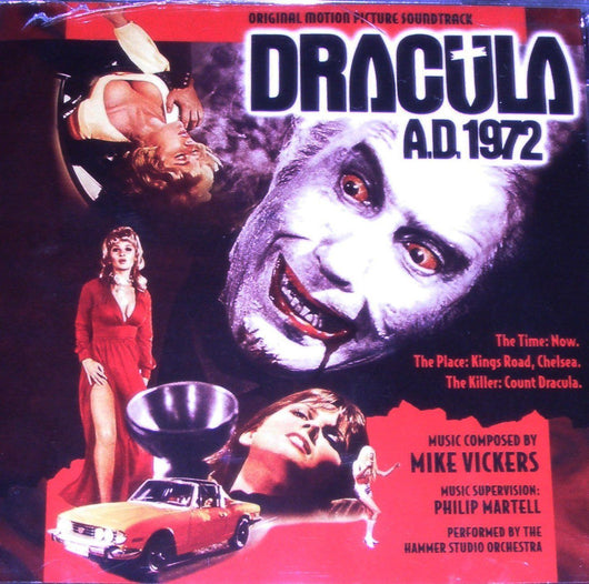 DRACULA A.D. 1972 - Original Soundtrack by Mike Vickers