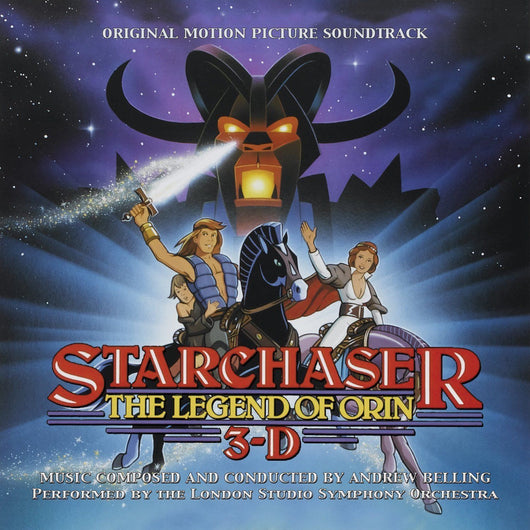 STARCHASER: THE LEGEND OF ORIN IN 3-D - Original Soundtrack by Andrew Belling