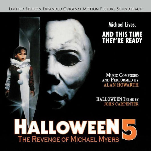 HALLOWEEN 5: THE REVENGE OF MICHAEL MYERS - Original Soundtrack by Alan Howarth