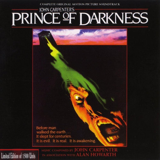 Prince Of Darkness-Original Soundtrack by John Carpenter & Alan Howarth 2-CD SET