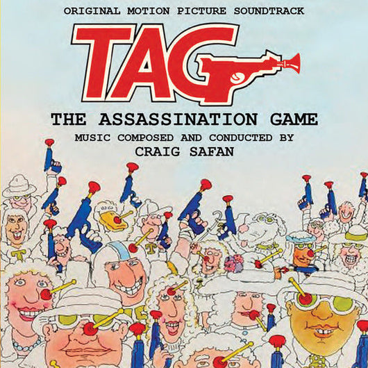 TAG: THE ASSASSINATION GAME - Original Soundtrack by Craig Safan