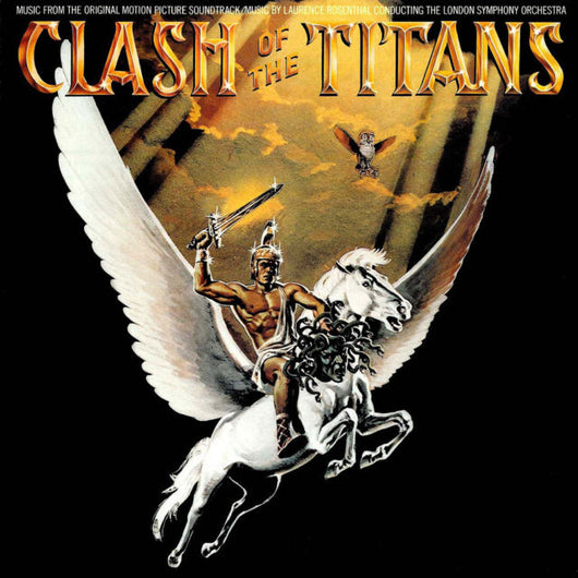 Clash of the Titans-Original Soundtrack Recording by Laurence Rosenthal (Original 1997 PEG re-issue)