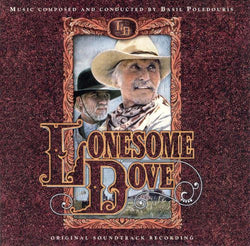 LONESOME DOVE-Original Soundtrack Recording by Basil Poledouris (OOP CD)