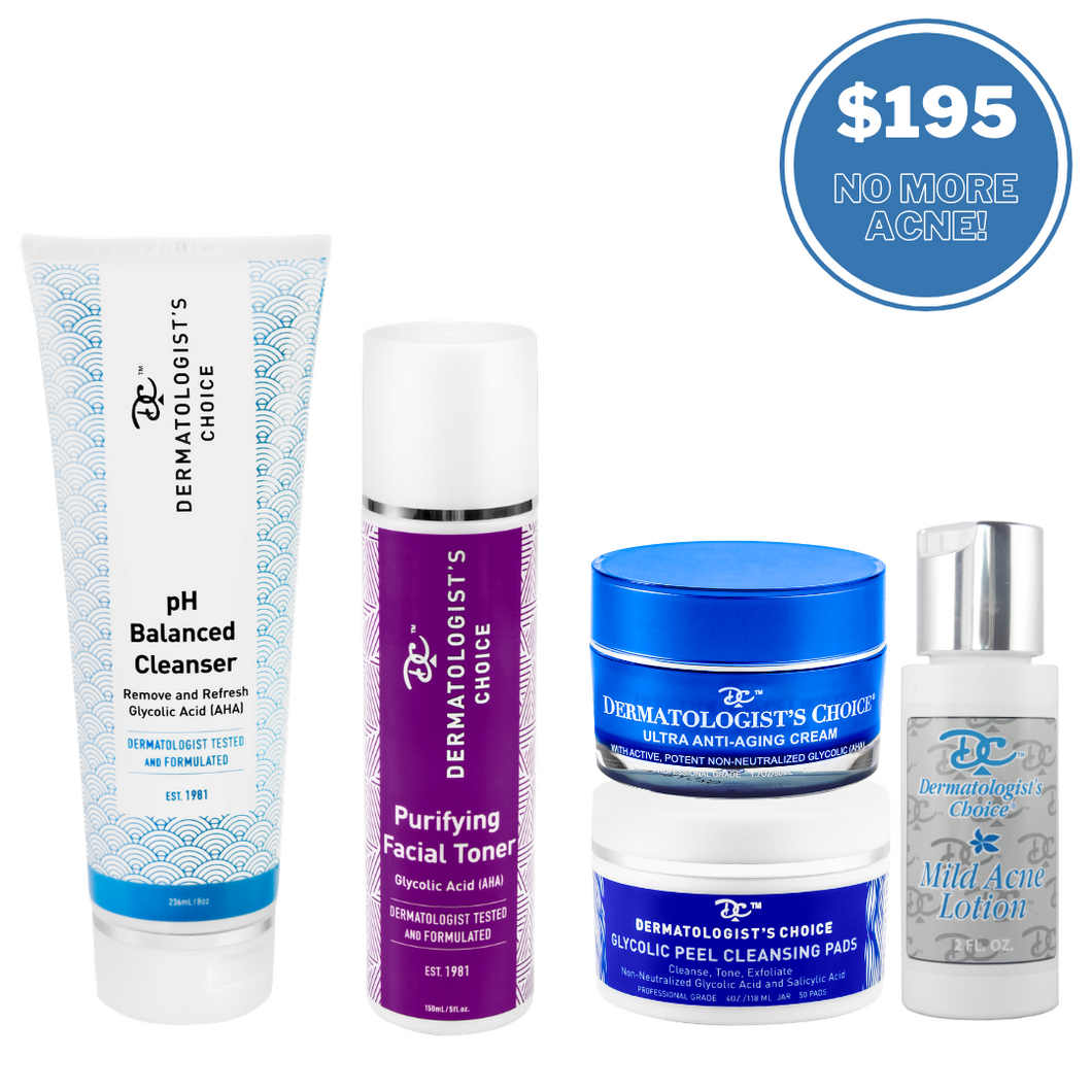 Ultimate Acne Kit for Face + Body