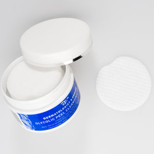 Advanced Non-Neutralized Glycolic AHA Facial Peel Treatment