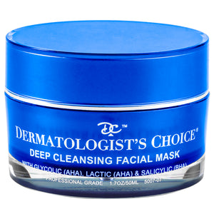 Deep Cleansing Facial Mask with AHAs and BHAs