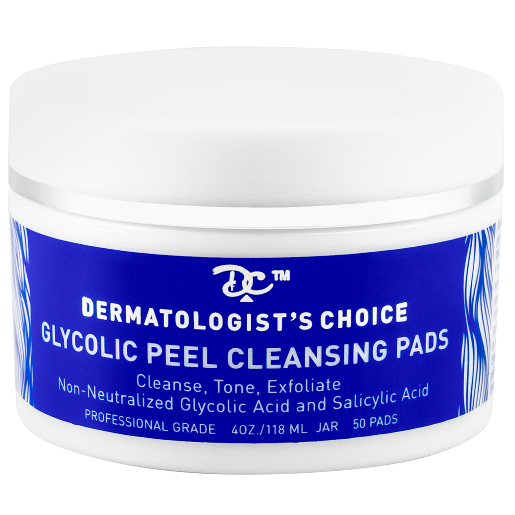 Glycolic Peel Cleansing Pads with Salicylic Acid