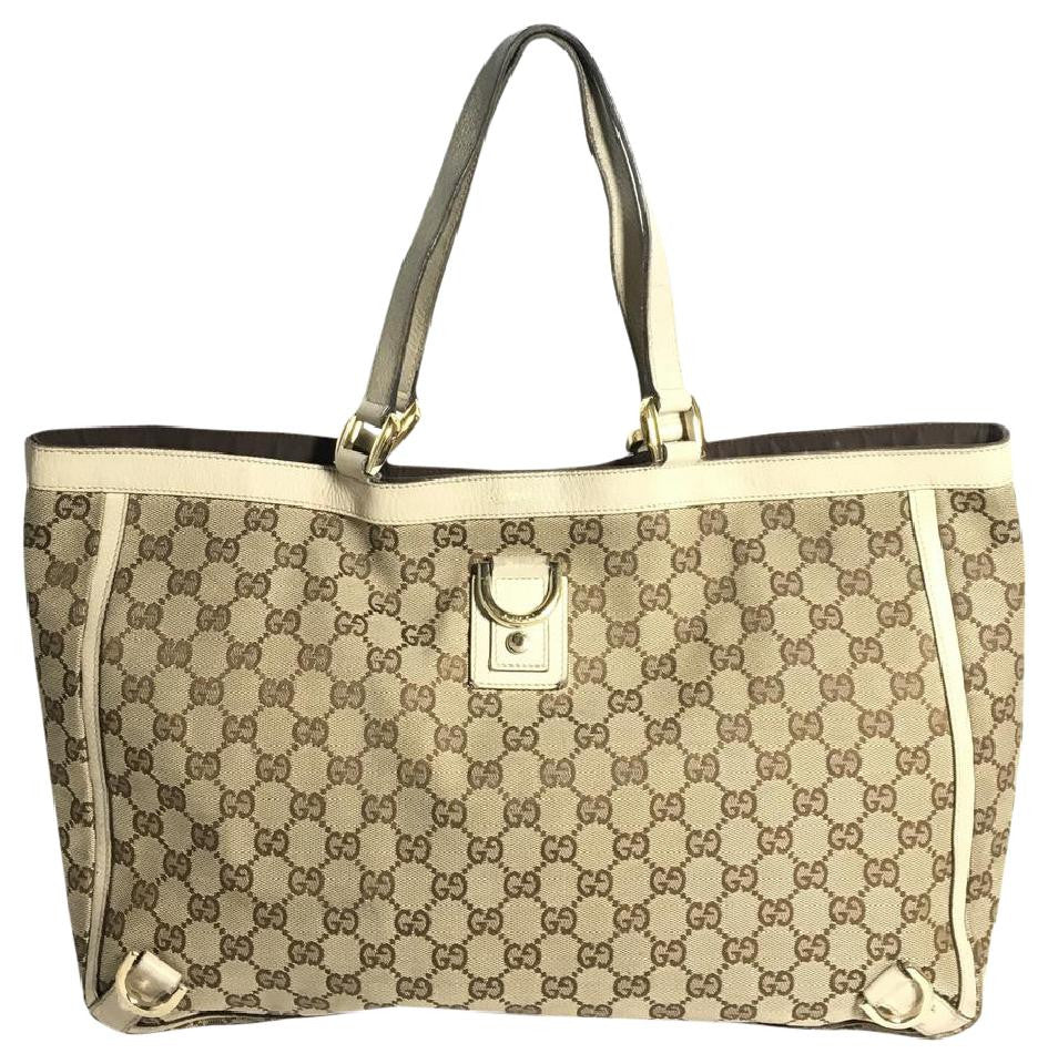 6334747dd74d Authentic Gucci Tote Bag – Spade Creations