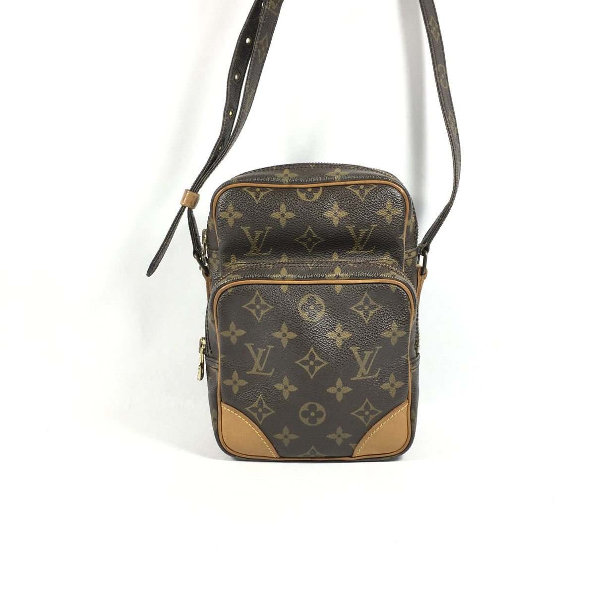 33a961418365 Authentic Louis Vuitton Amazon Crossbody Bag – Spade Creations