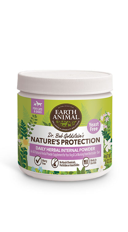 Flea & Tick Preventative by Earth Animal (Yeast Free Internal Powder)