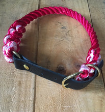 Make Your Own Combo Collar: Rope and Leather Adjustable Collar
