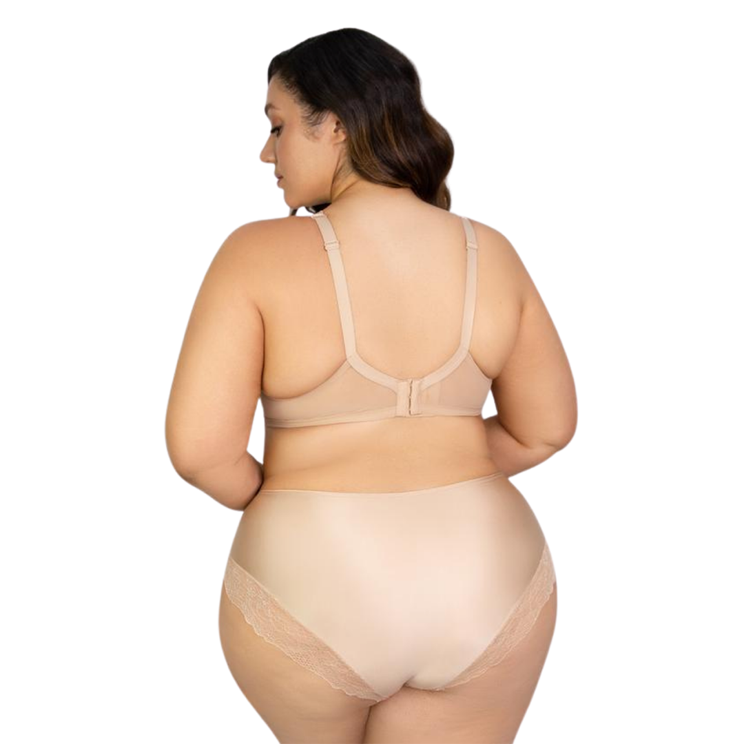 sexy lace plus size nude  underwear