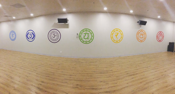 Modern Yoga - Vinyl Installation Project