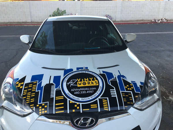 Partial Wrap Options - AZ Vinyl Works Can Do It!