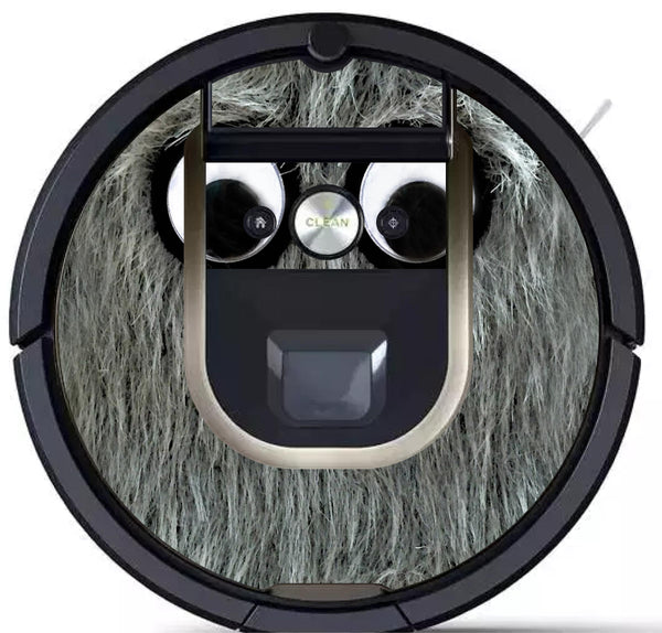 Grey Monster Skin for All Floor Cleaning Robots