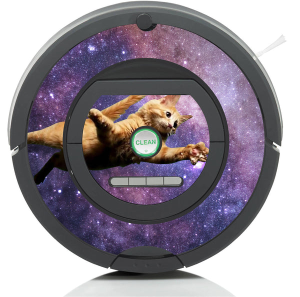 Space Cat Galaxy Skin for all Floor Cleaning Robots