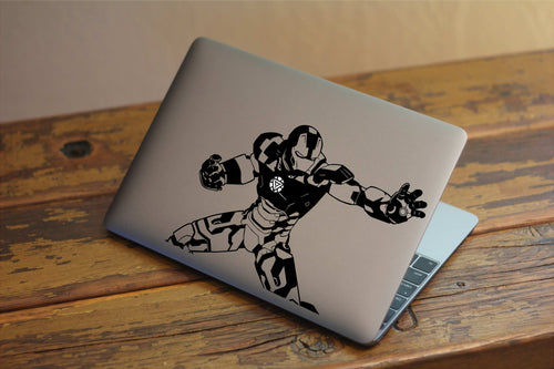 Iron Man Avengers Inspired Vinyl Decal for Mac
