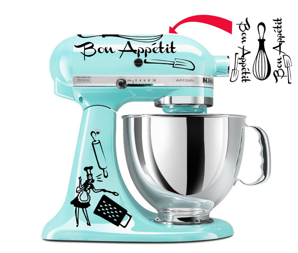 Bon Appetit Decal Set
