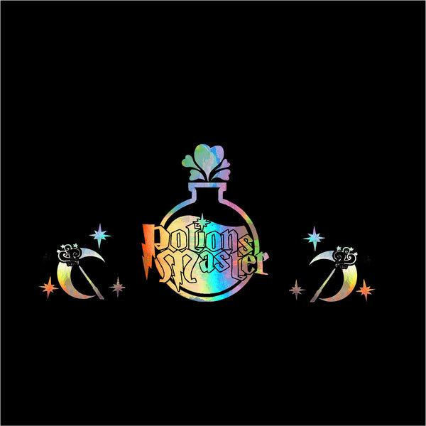Rainbow Holographic Oil Slick Potions Master Set