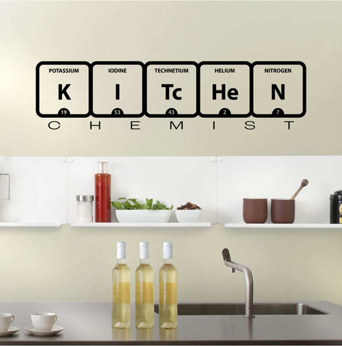 Kitchen Chemist Wall Decal