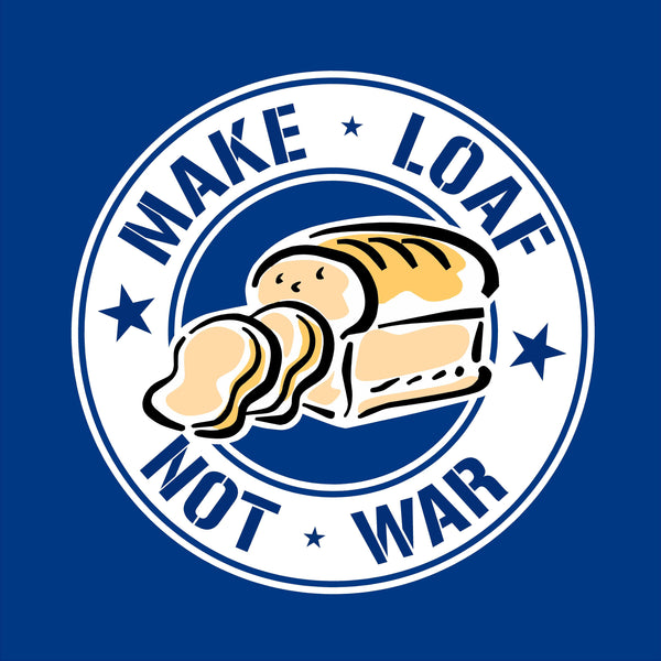 Make Loaf Not War Apron