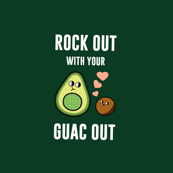 Rock Out with your Guac Out Apron