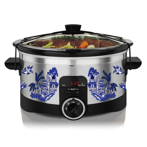 Blue China Slow Cooker Decal