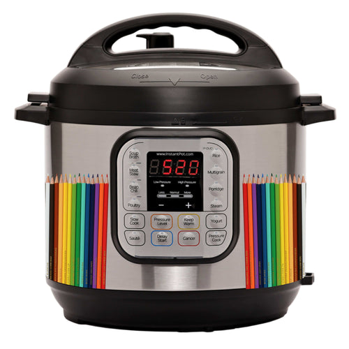Colored Pencils Slow Cooker Decal