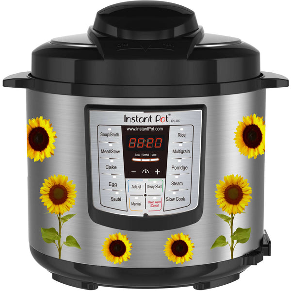 Sunflowers Slow Cooker Decal