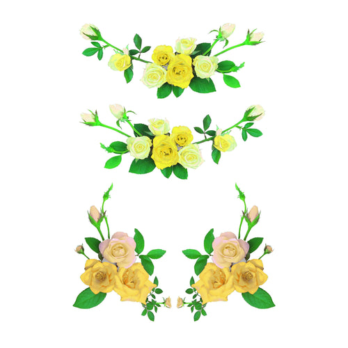 Yellow Roses Slow Cooker Decal