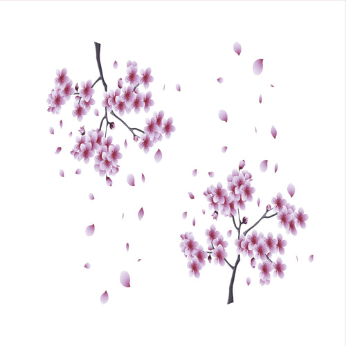 Sakura Blossoms Slow Cooker Decal
