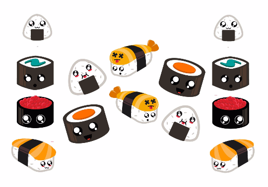 Kawaii Sushi Set