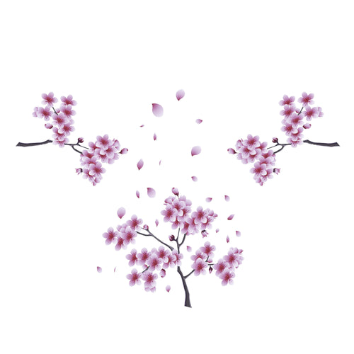 Sakura Blossoms Decal Set