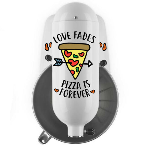 Pizza is Forever Decal Set