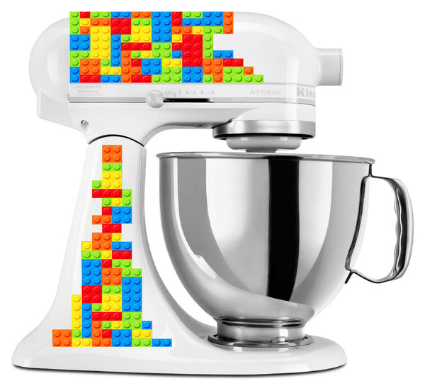 Lego Blocks Mixer Decal Set