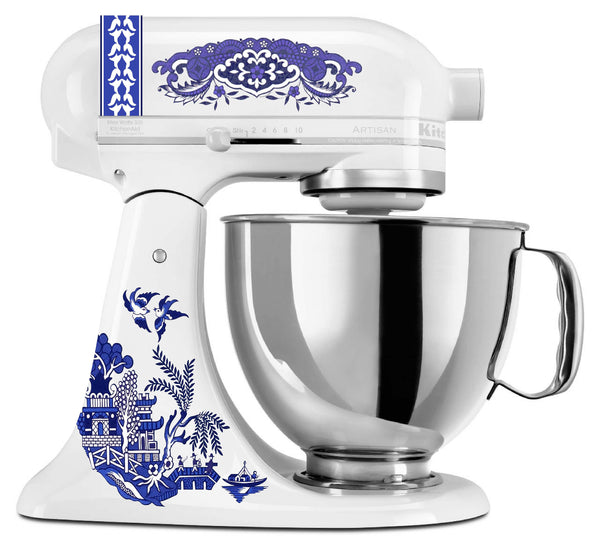 Blue China Mixer Decal Set