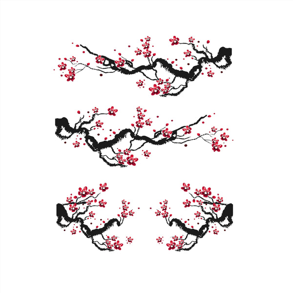Cherry Blossom Decal Set