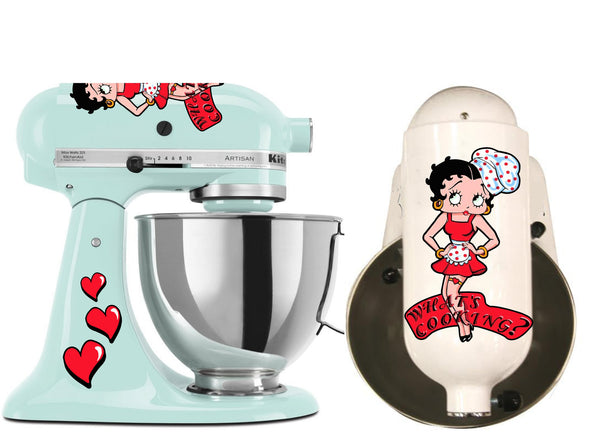 Betty Boop Chef Decal Set