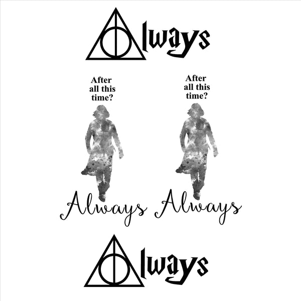 Always Harry Potter Inspired Decal Set