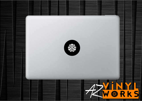 Iron Man Arc Reaktor Vinyl Decal for Mac