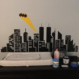Bat City Wall Decal