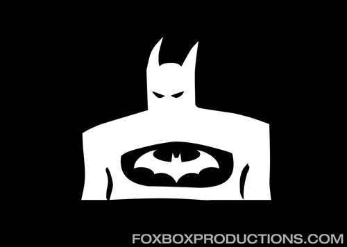 Dark Knight Batman Vinyl Decal for Mac