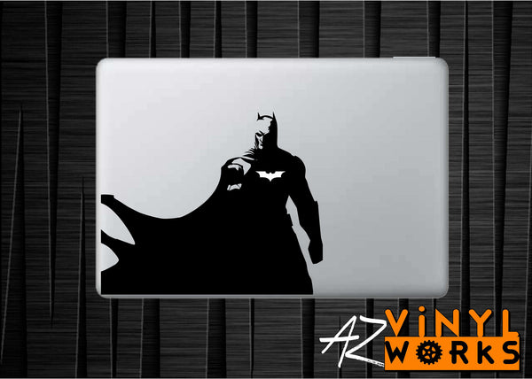 Batman Cape DC Inspired Vinyl Decal for Mac