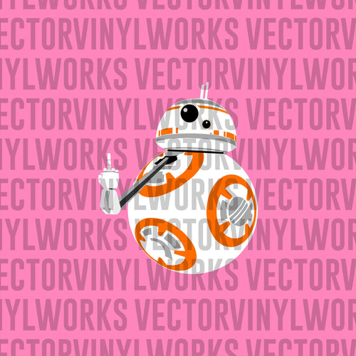 BB8 FU Pocket Tee