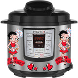 Betty Boop Slow Cooker Decal