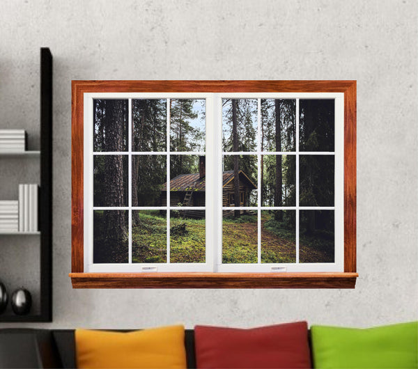 Cabin in the Woods Wall Art